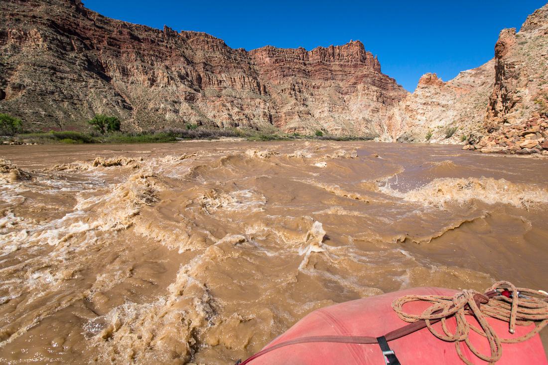 Cataract Canyon Rapids