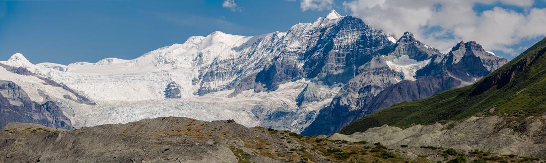 Gates Glacier From Lake 3 - Donoho Basin