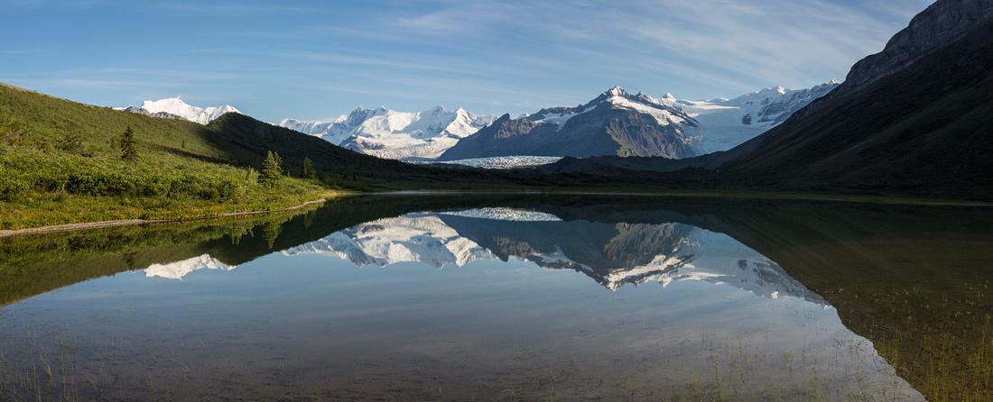 Morning Reflections from Lake 2 - Donoho Basin
