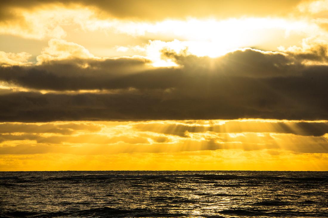 Sunrise at Kapa'a