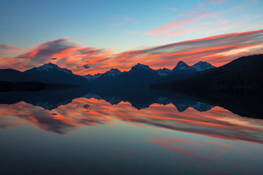 Lake McDonald Sunrise 4-29-15
