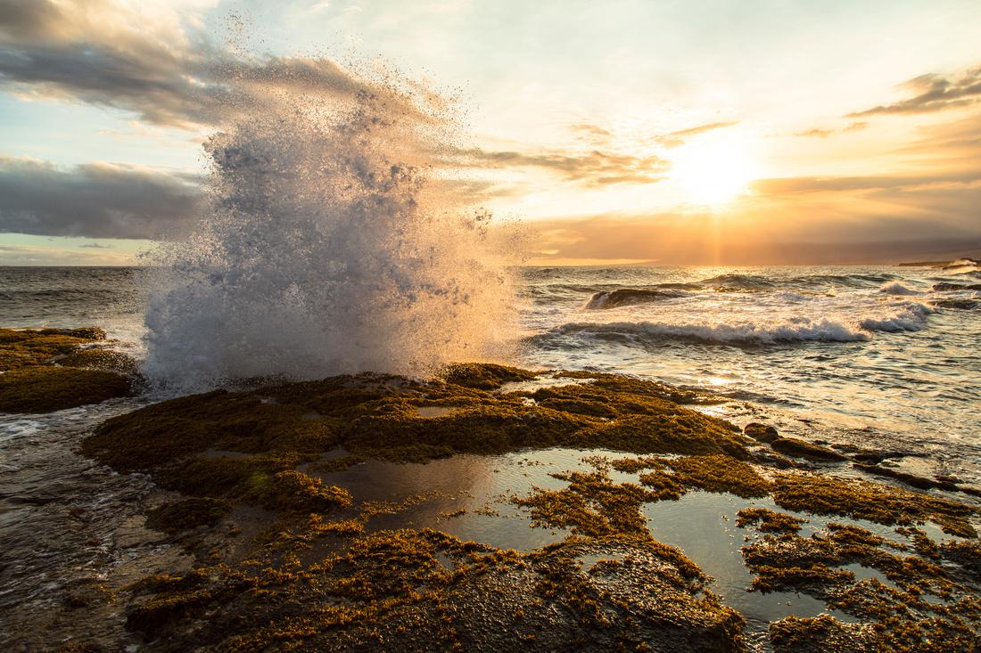 Evening Light at Apua Point Tidal Flats (3)