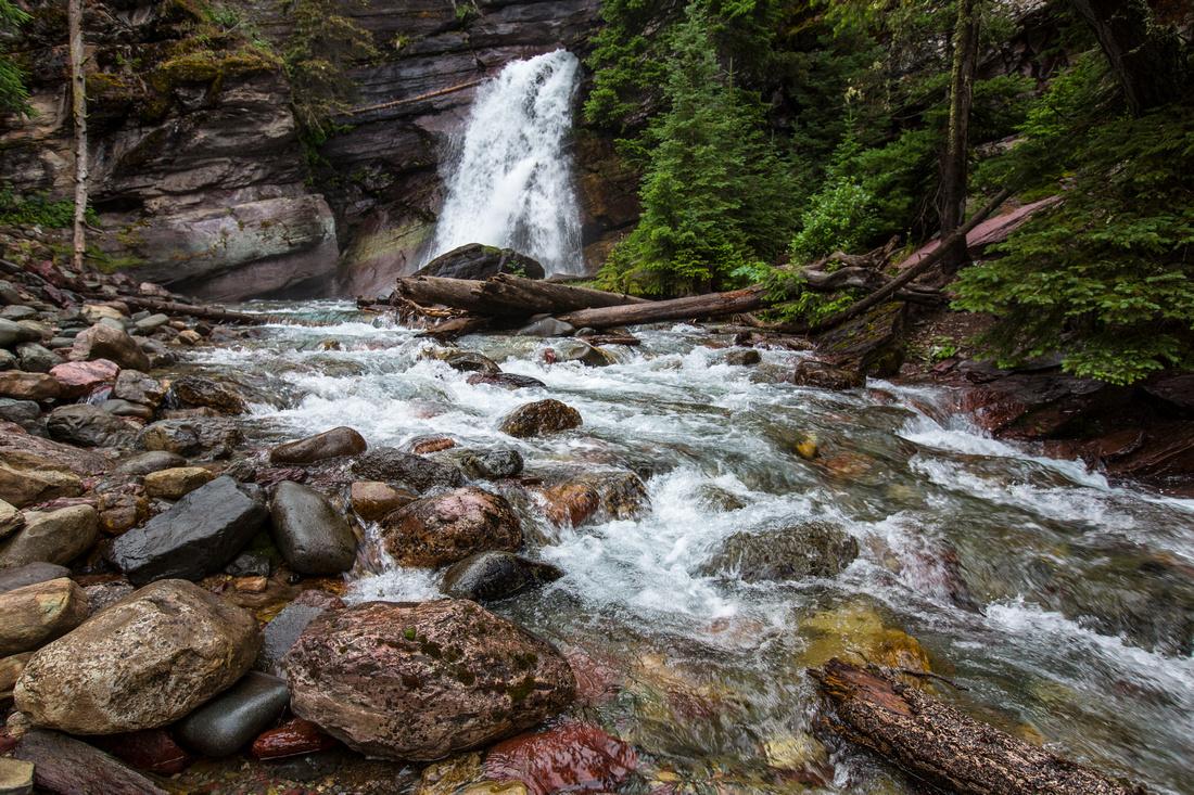 Baring Falls Still