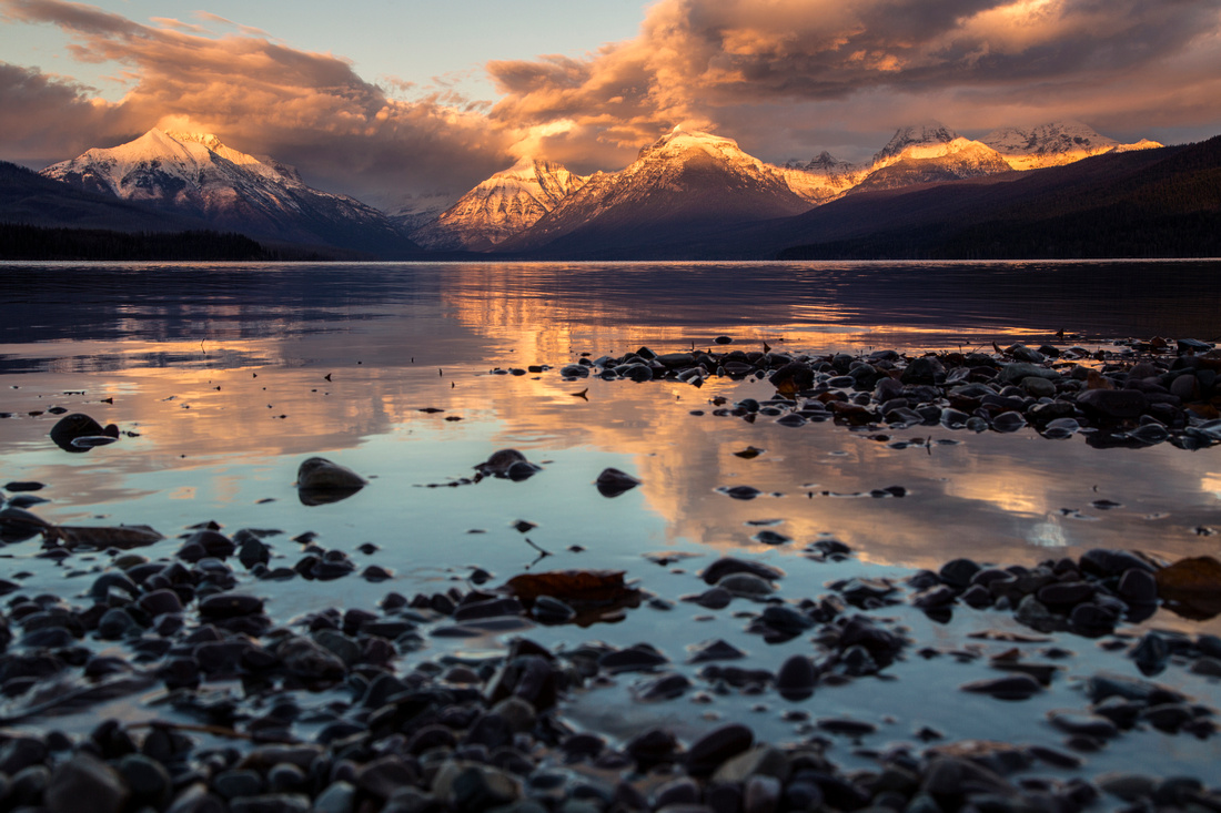 Lake McDonald Fall Sunset 11.16.15