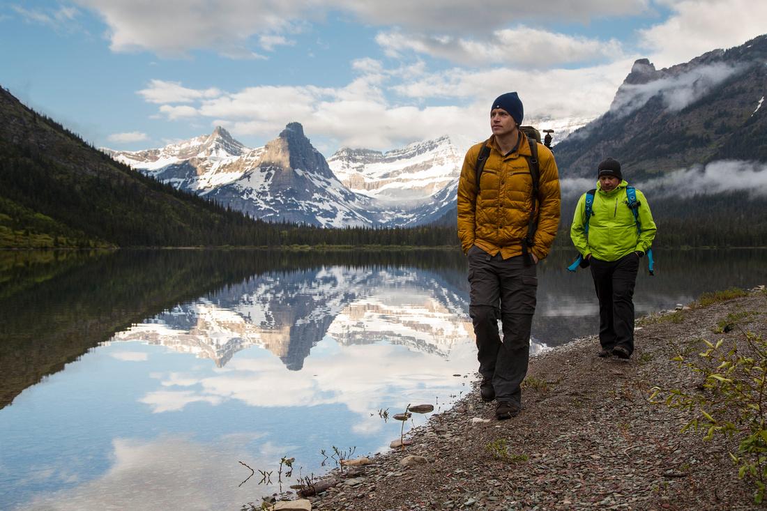Nick and James at Cosley Lake