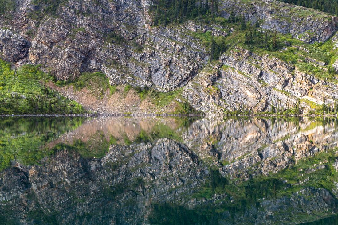 Geology Reflections on Cosley Lake
