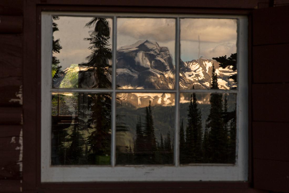 Heavens Peak Reflection