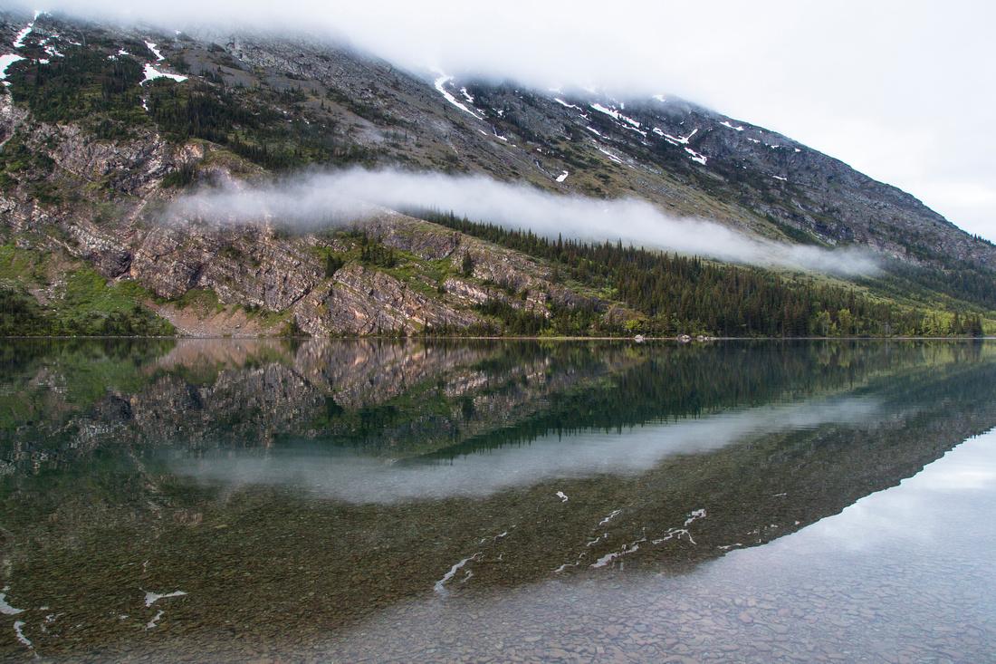 Morning Fog on Cosley Lake (2)