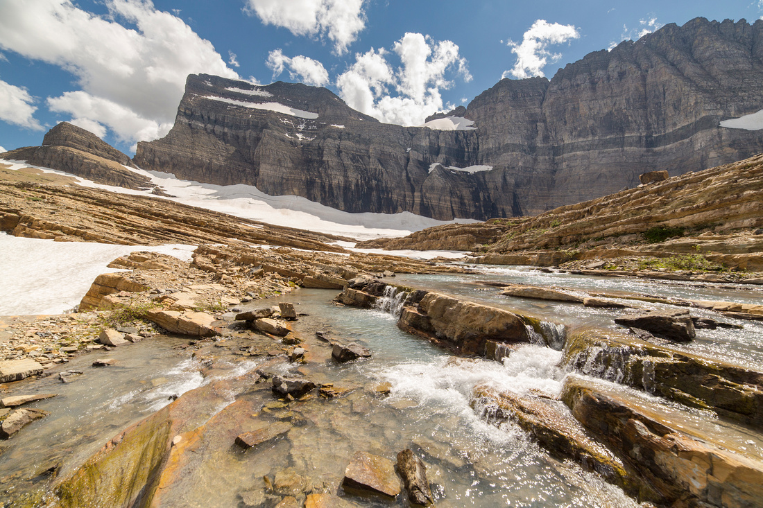 Grinnell Creek in Grinnell Glacier Basin