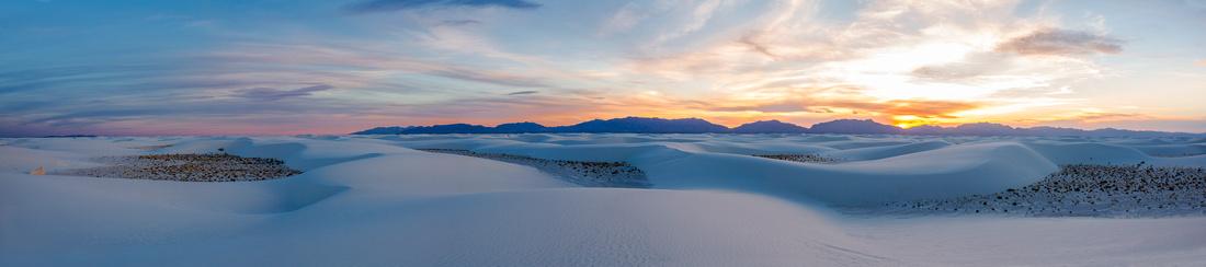 White Sands Panorama