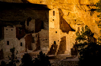 Cliff Palace Tower Sunset
