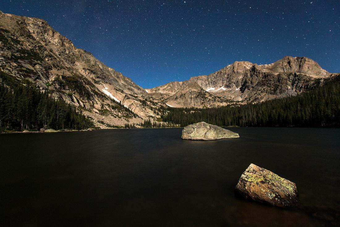 Thunder Lake at Night (2)
