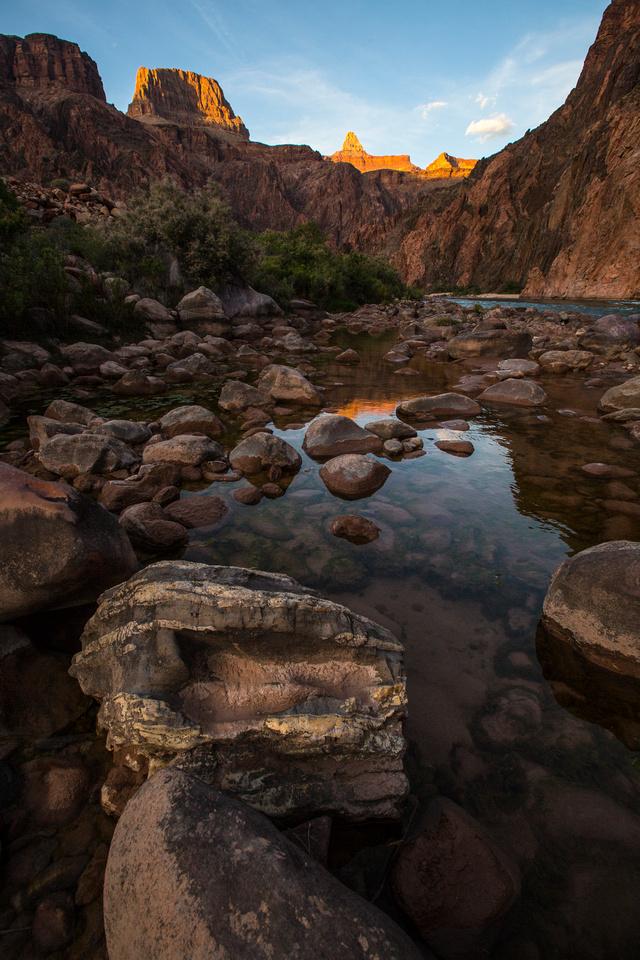 Sunset Along the Colorado