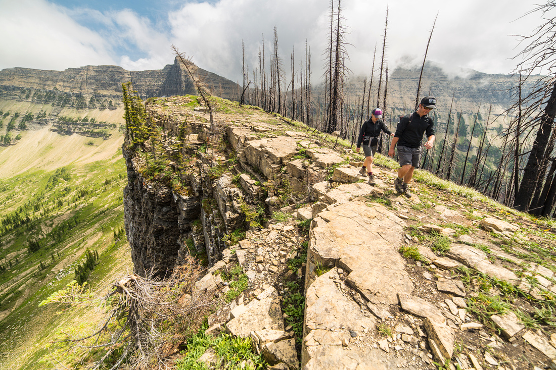 Shawn and Lauren on Tinkham Mountain Ridge (7)