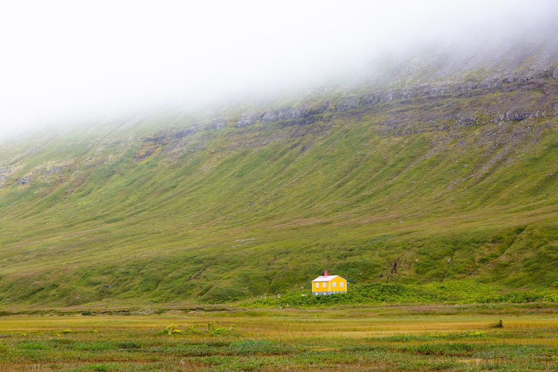 Private residence in Hornvik