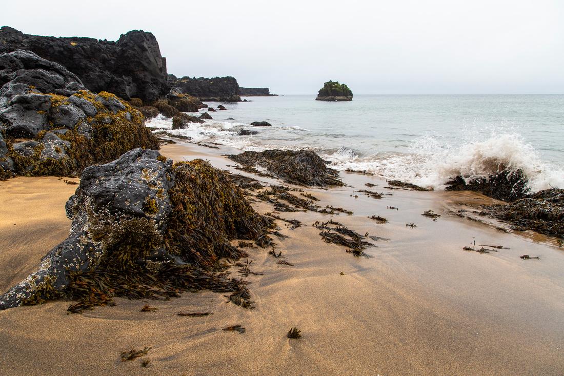 Skarðsvík Beach and coastline