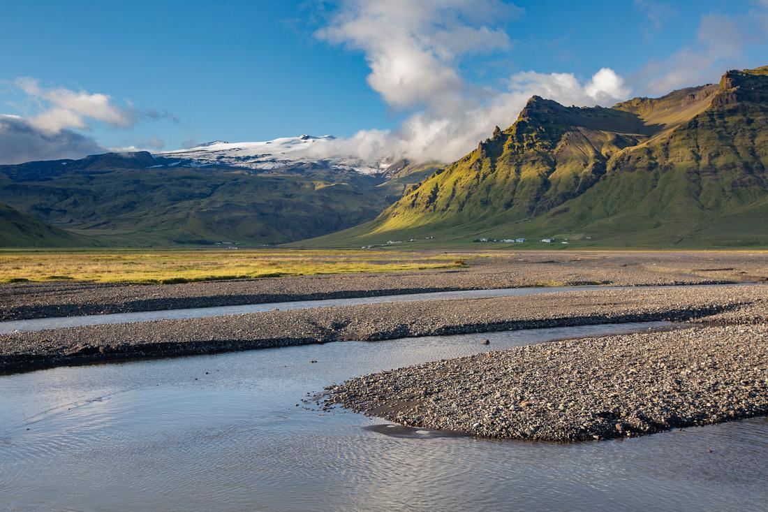 Eyjafjallajökull views near Skógar