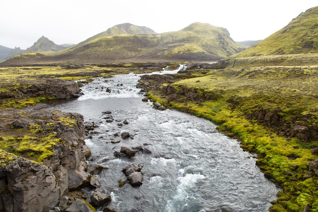 Views between Hvanngil and Emstrur (2)