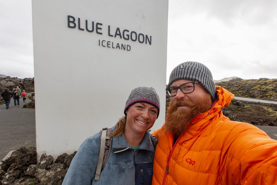 Corrie and I at Blue Lagoon
