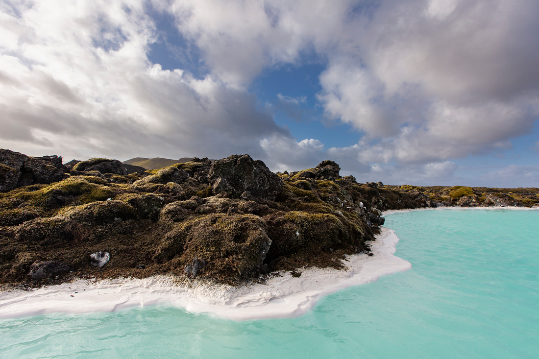 Colors of Blue Lagoon
