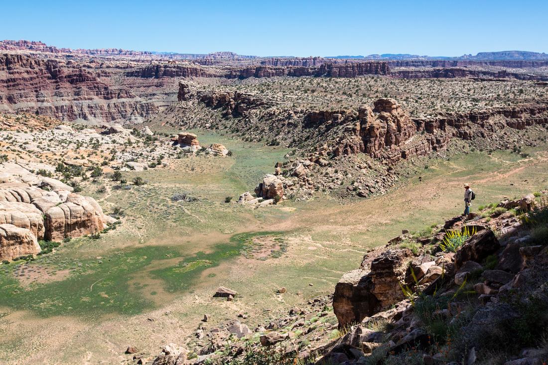 Overlooking Surprise Valley