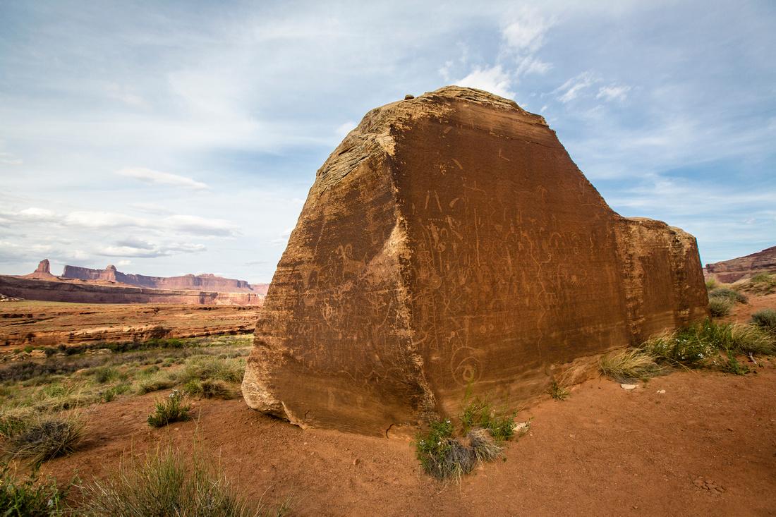 Petroglyph Rock Near Turk's Head