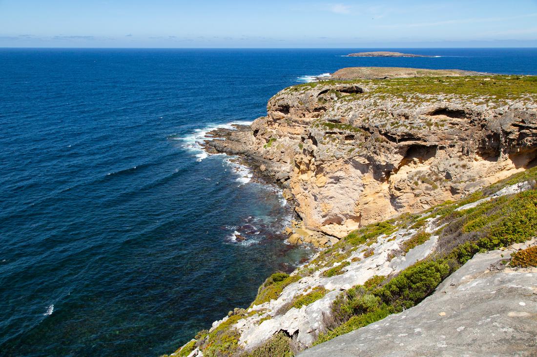 Overlooking the Great Australian Bight
