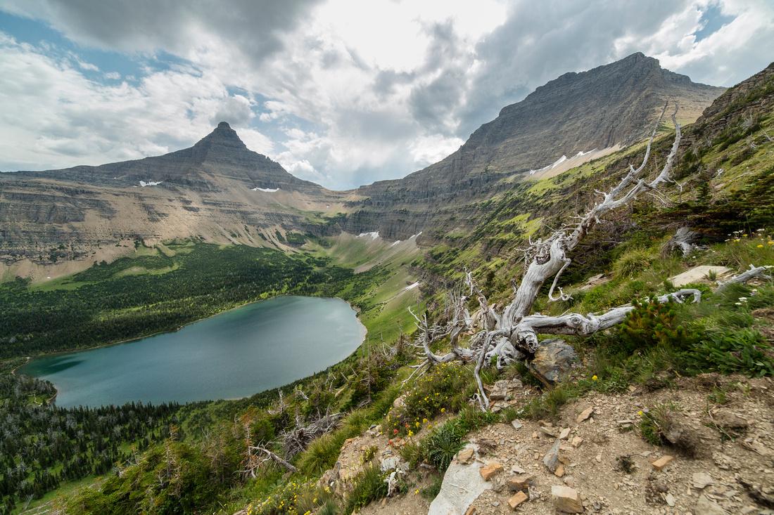 Oldman Lake, Flinch Peak, and Mt. Morgan