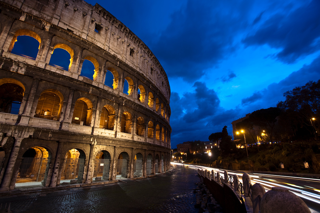Magic Hour at the Colosseum
