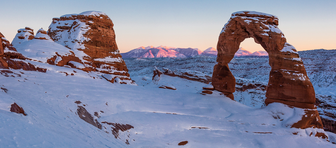 Delicate Arch and Alpenglow