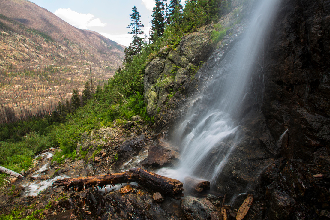Forest Canyon and Lost Creek Falls