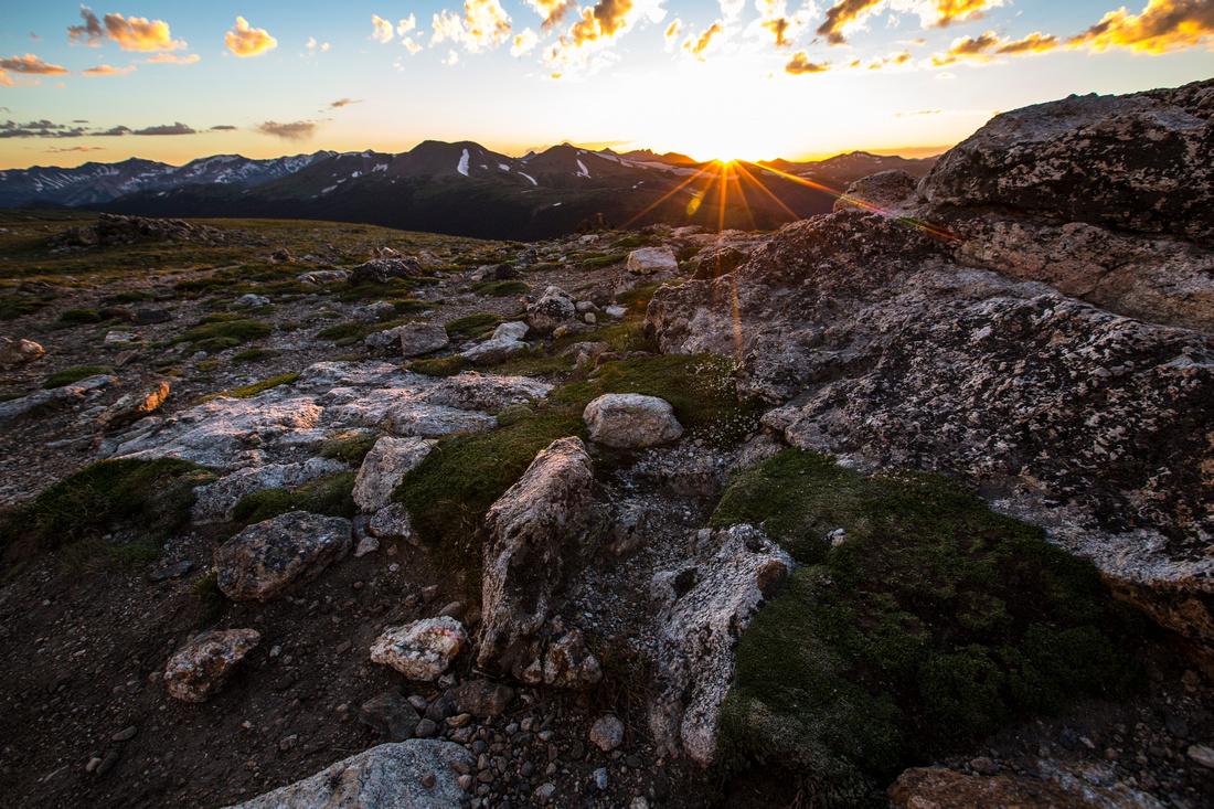 Sunset From Huffer's Hill
