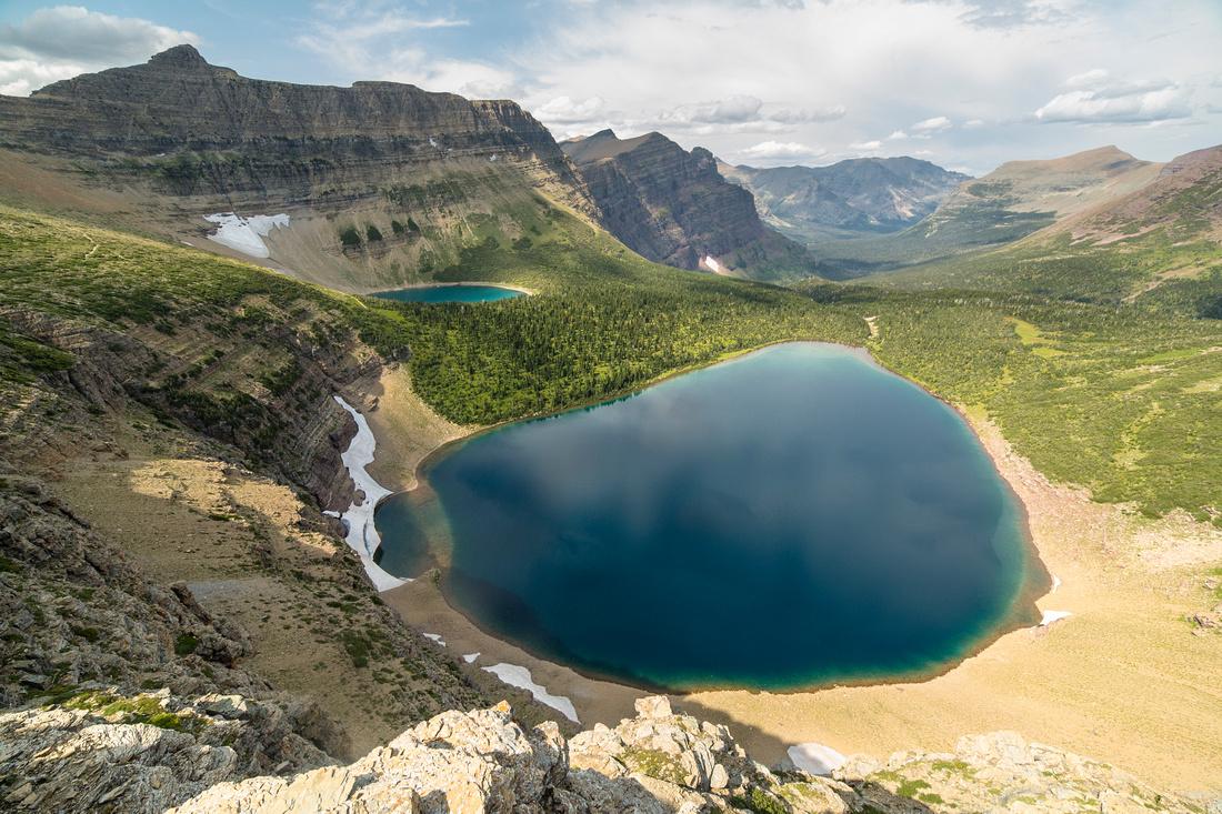 Pitamakan Lake From the Pass (2)