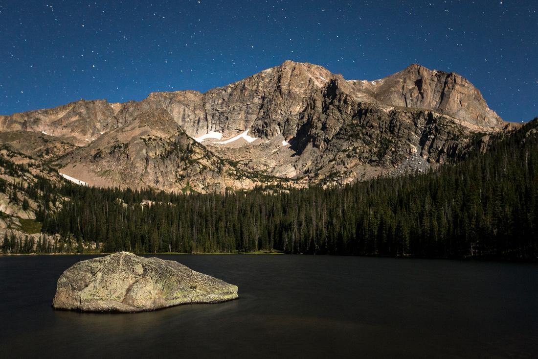 Thunder Lake at Night