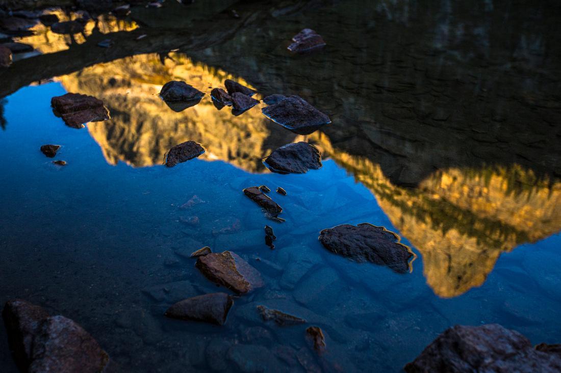Little Matterhorn Reflections