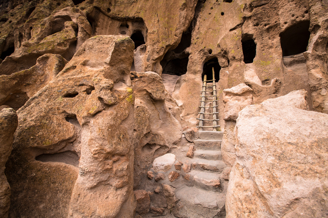 Talus Houses Cliff Dwelling Ruins