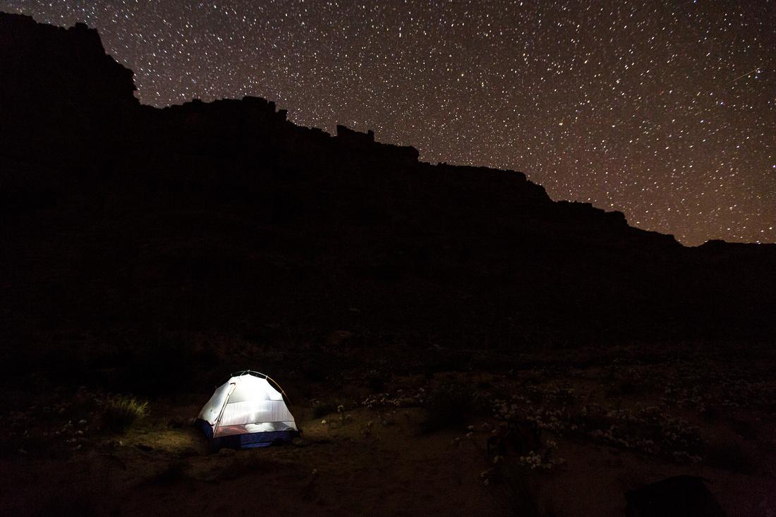 Cataract Canyon at Night