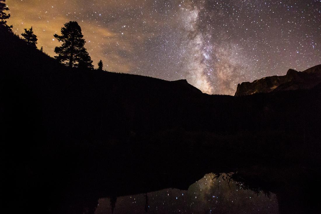 Milkyway over Fern Lake
