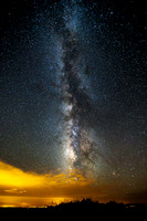 Milky Way With Sky Glow