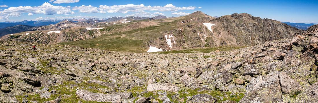 Continental Divide Hiker