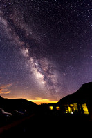 Morefield Residence and Milky Way