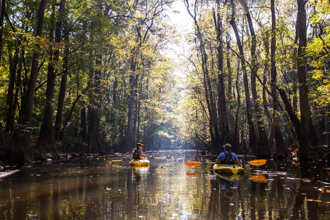 Kayakers on Cedar Creek (3)