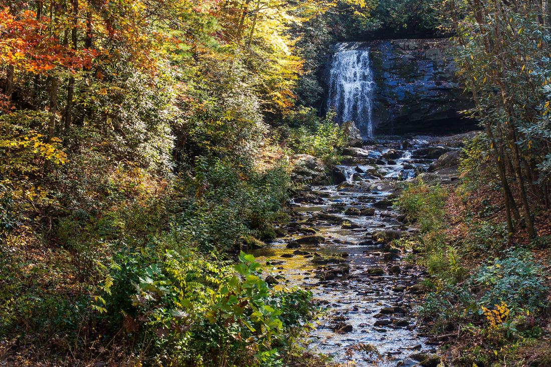 Meigs Falls in Autmn
