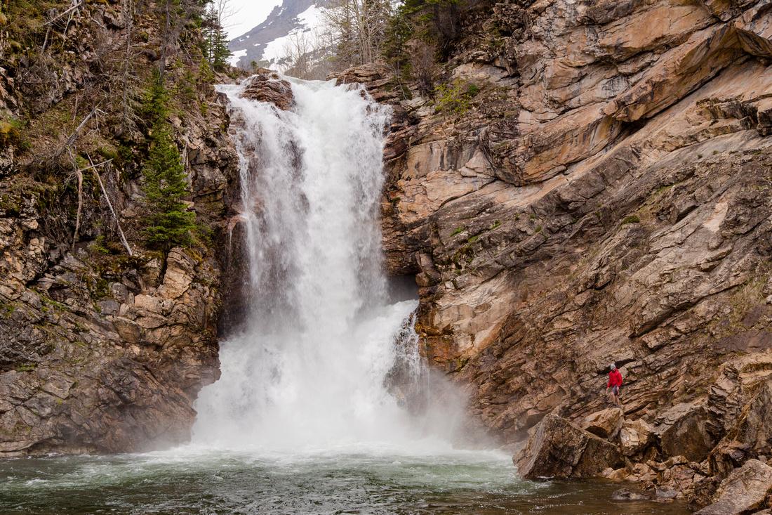 Cristos at Running Eagle Falls