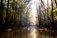 Kayakers on Cedar Creek (2)