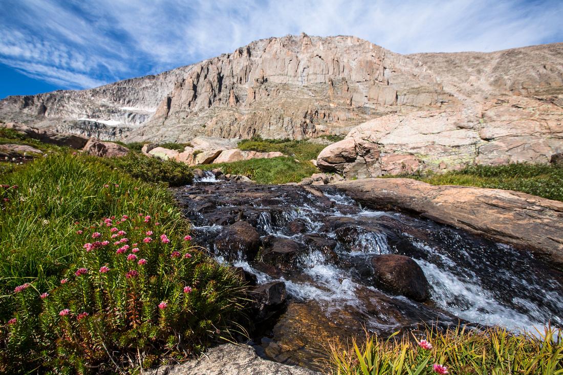 Queens Crown and Chiefshead Peak