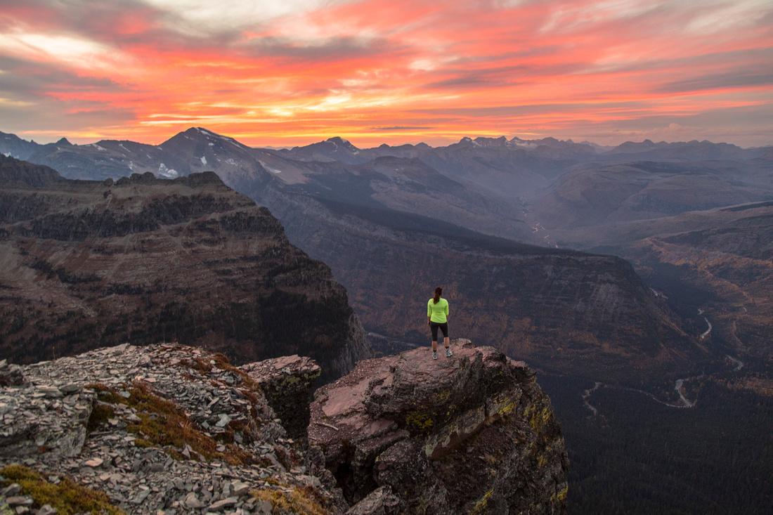 Alpine Sunset From Oberlin