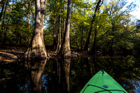Kayaking on Cedar Creek (2)