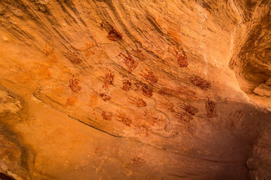 Ancestral Puebloan Camp Pictographs