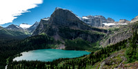 Grinnell Lake Panoramic